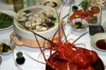 奥熊野宿の夕食